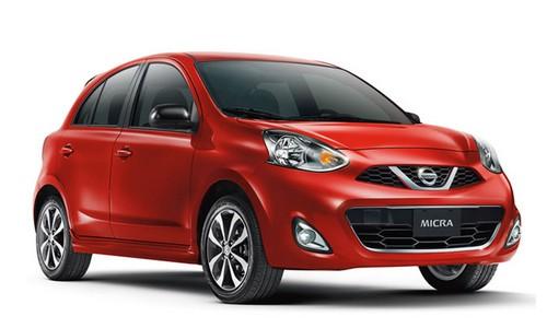 rental-car-greek-ecocars-Nissan Micra auto 5 Doors or similar