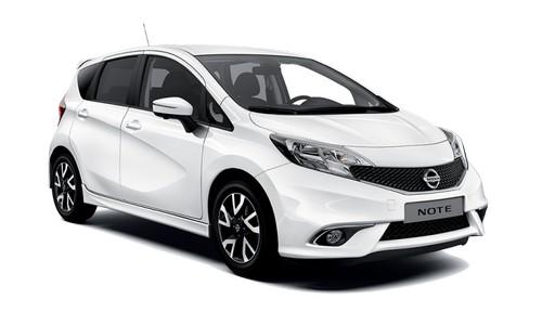 rental-car-greek-ecocars-Nissan Note  or similar