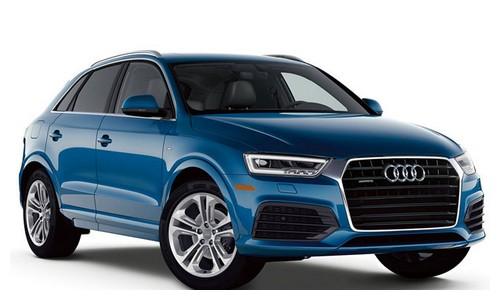 rental-car-greek-ecocars-Audi Q3 auto or similar