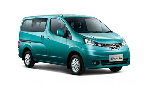 rental-car-greek-ecocars-Nissan Evalia 7 seats diesel or similar