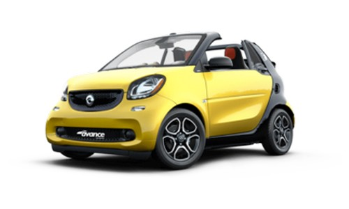 rental-car-greek-ecocars-Smart Fortwo cabrio or similar