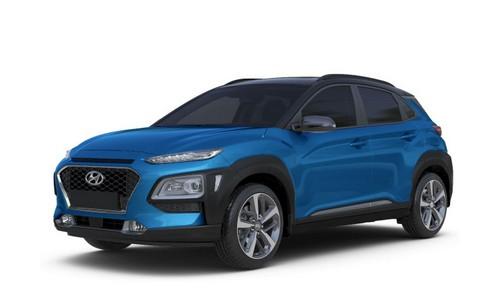 rental-car-greek-ecocars-Hyundai Kona or similar