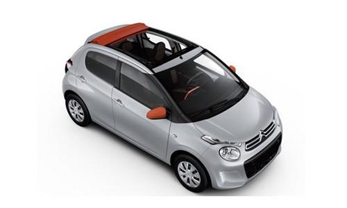 rental-car-greek-ecocars-Citroen C1 Cabrio or similar